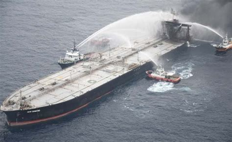 Fire-Hit Indian Oil-Chartered Tanker Owner To Pay $1.8 ...