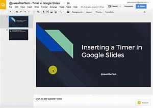 Inserting A Timer In Google Slides  U2013 Jake Miller