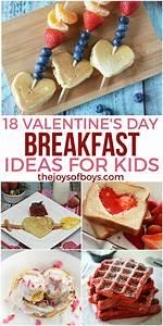 18 Valentine's Day Breakfast Ideas for Kids - The Joys of Boys
