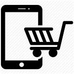 Shopping Icon Mobile Phone Icons Editor Open