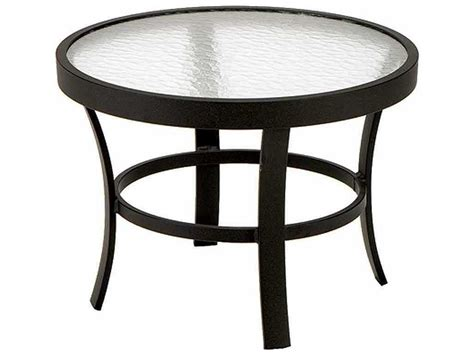 winston obscure glass aluminum 24 end table m8324g
