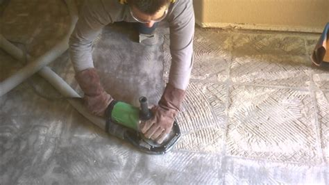 clean tile grout thinset removal demolition chandler
