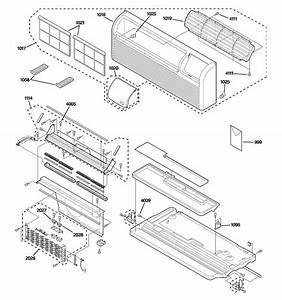 Ge Az38h09dabm1 Room Air Conditioner Parts