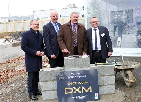 daniel moquet siege social dxm pose de la 1ère du siège social aux hauts de