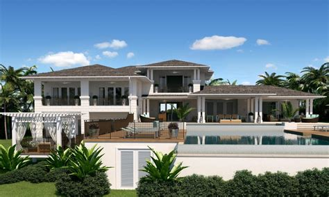 house plans with big porches caribbean style house bahama style house plans caribbean
