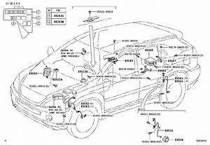 Lexus Rx 400h Abs Wheel Speed Sensor Wiring Harness