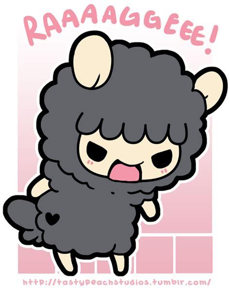 TPS: Grumpy Black Sheep's Tiny Rage by MoogleGurl on