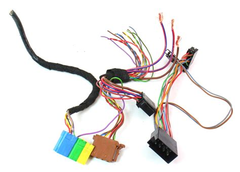 Vw Golf Wire Harnes by Radio Unit Wiring Harness Plugs Pigtails 01 05 Vw