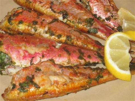 cuisiner les rougets rouget barbet à la chermoula au four paperblog