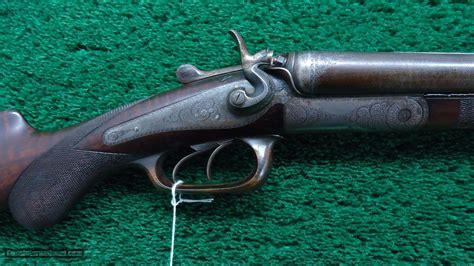 Double Barrel Hammer Side By Side German Made Shotgun By