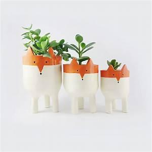 20 accessoires creatifs pour ceux qui aiment les renards With chambre bébé design avec pot de fleur connecté