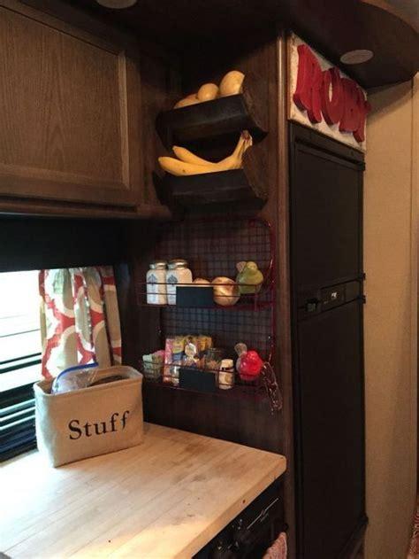 incredible camper storage hacks ideas  travel trailer