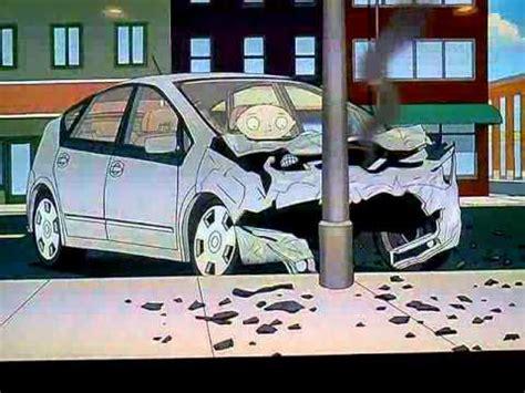 Stewie Crashes Brian S Car by Family Stewie Crashes Brain S Prius
