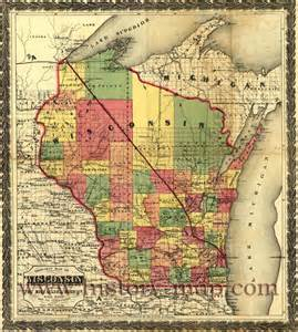 Wisconsin Township Map