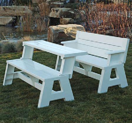 patio garden picnic table bench picnic table convert