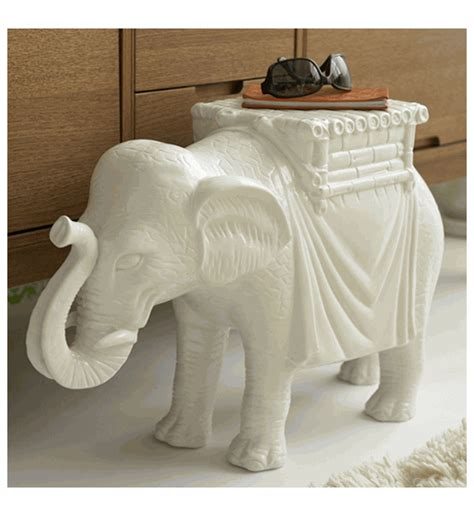 elephant side table  twos company organizecom