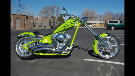 For Sale 2007 Big Dog K9 Softail Chopper Motorcycle 7,264