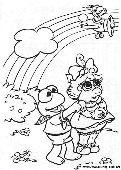 Muppet Babies coloring picture Baby coloring pages