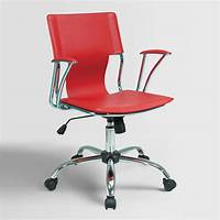 red desk chair Red Ethan Office Chair | World Market