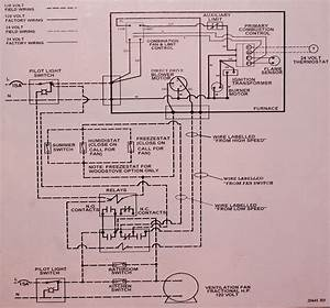 Coloman Gas Furnace Thermostat Wiring Diagram Data