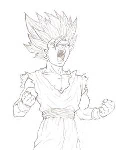 Teen Gohan SSJ2 Drawings