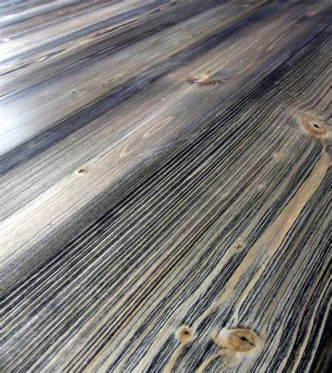 beetle killed pine flooring weathered antique finish