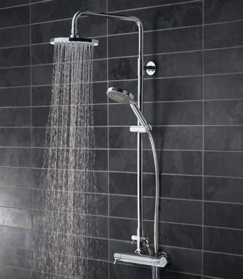 Kinetic Bar Valve Shower System With Fixed Head Okane