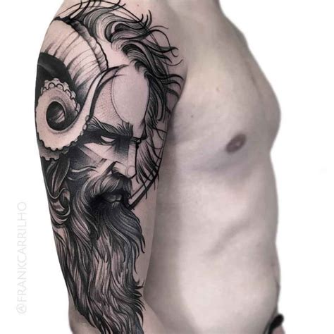 poseidon tattoo  shoulder  tattoo ideas gallery