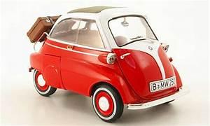 Bmw Isetta 250 red/white Revell diecast model car 1/18