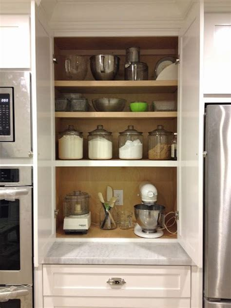 baking center appliance garage kitchen pinterest appliance garage cabinets  countertops