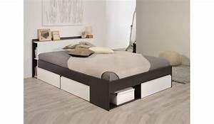 Lit 2 Places But : lit 2 places avec rangement pas cher pour lit ~ Teatrodelosmanantiales.com Idées de Décoration