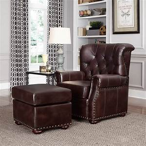home, styles, melissa, stationary, club, chair, with, optional, ottoman