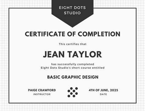 certificate courses customize 180 course certificate templates canva