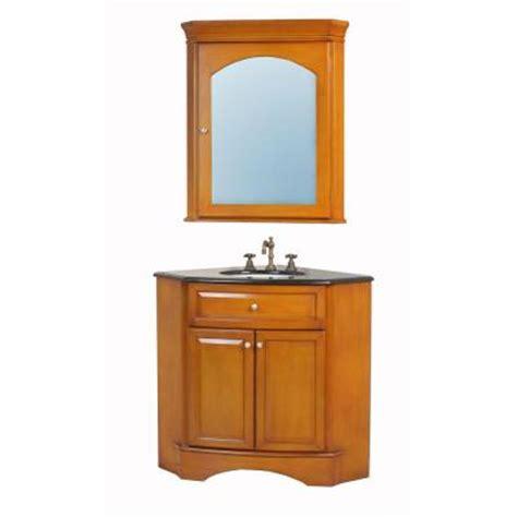 Home Depot Bathroom Vanities Single Sink by Stufurhome 40 In Marcia Single Sink Vanity With Granite