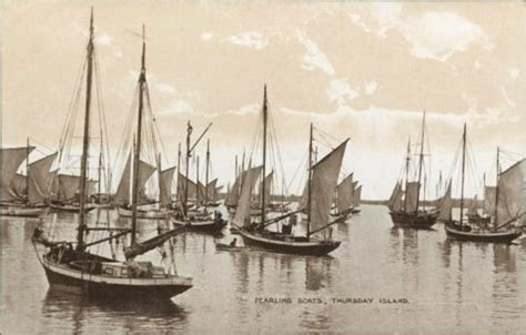 Fishing Boat Jobs Broome by Pearling Boats Thursday Island Torres Strait 1918