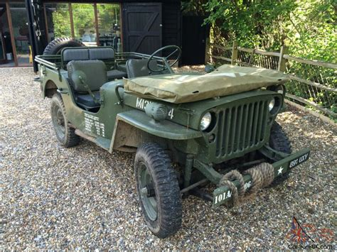 wwii jeep willys hotchkiss jeep 1962 not ford willys gpw ww2 wwii mb