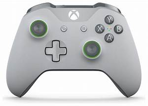 SALE on Xbox One Special Edition Controller - Grey - Green ...