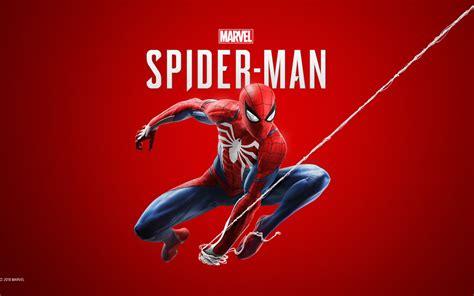 Wallpaper Spiderman, Marvel Comics, Playstation 4, 2018