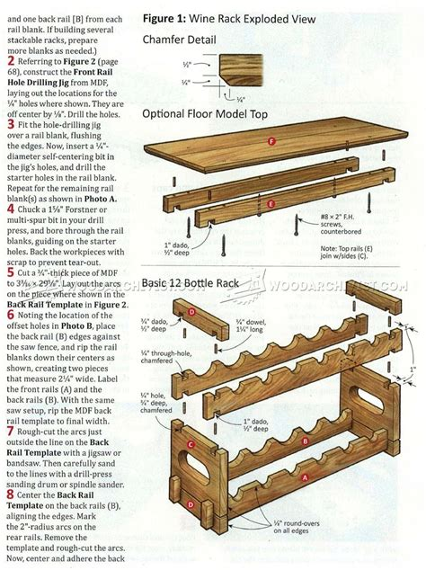 plans for wine rack stacking wine rack plans woodarchivist