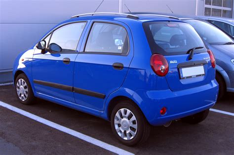 Chevrolet Matiz history, photos on Better Parts LTD