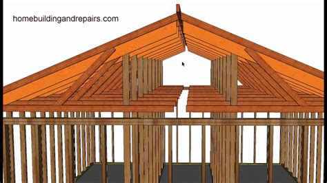 Cost To Add Tray Ceiling by How To Convert Existing Truss Roof Flat Ceiling To Vaulted