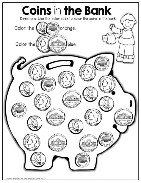 identifying coins worksheets homeschooldressage