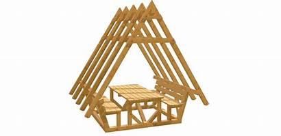 Bauplan Gartenlaube Bauen Selber Holz Zu
