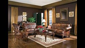 Brown, Living, Room, Furniture, Ideas