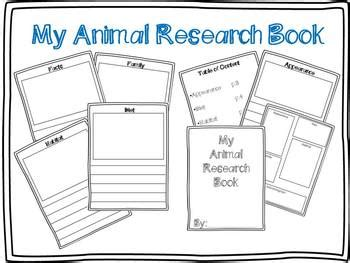 animal research template freebie  summer pittman tpt