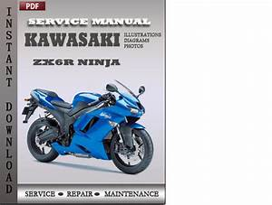 Kawasaki Zx6r Ninja Factory Service Repair Manual Download