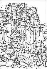 Bryce Coloring Canyon National Designlooter Utah 784px 75kb sketch template