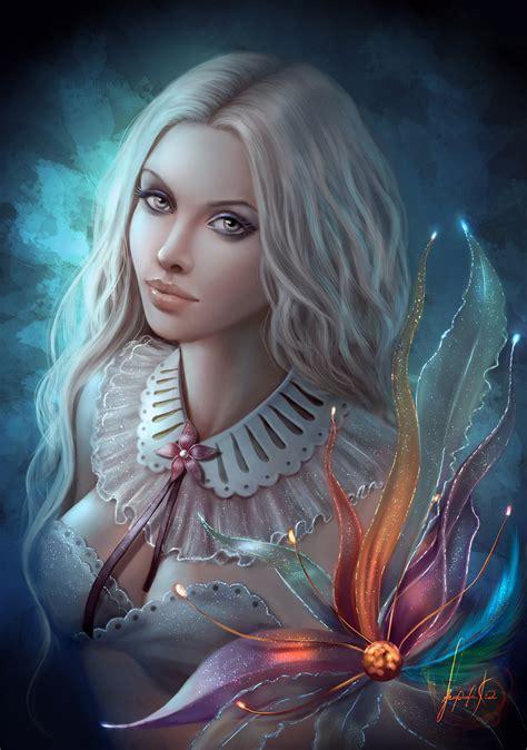 Mystic Flower By Missqualle On Deviantart