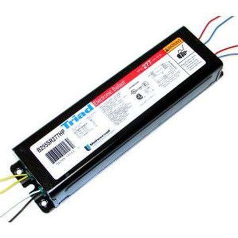 universal 12399 b295sr277hp000i t12 fluorescent ballast