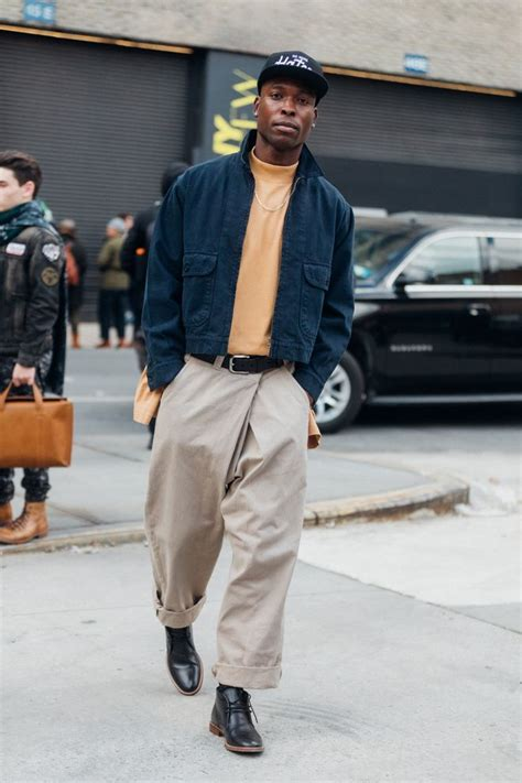 Street Style Fashion Week Homme Automne Hiver